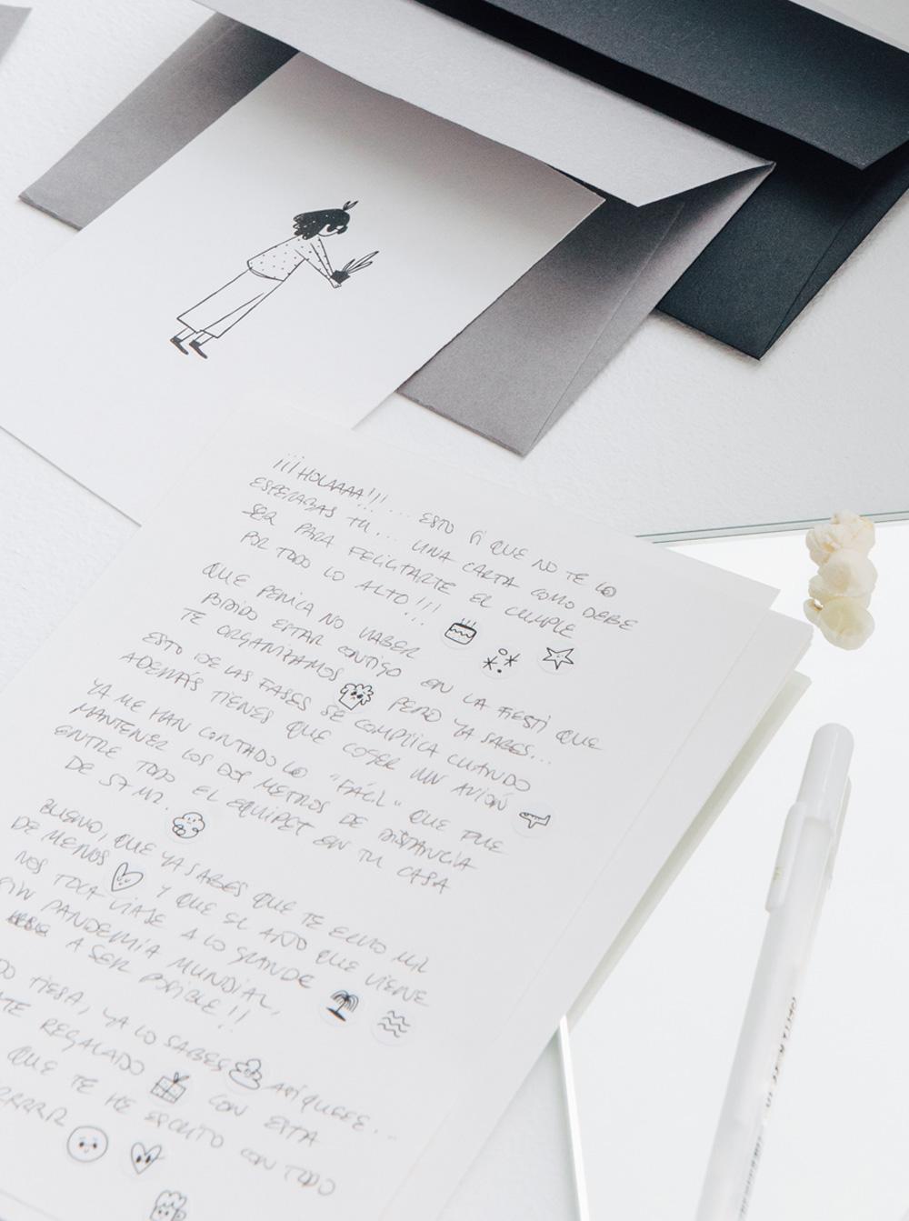 Carta y postal escritas a mano Celebra - Better by Letter