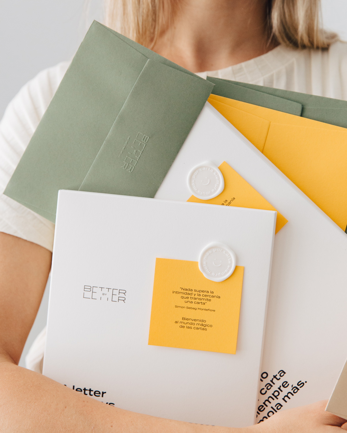 Packs para escribir cartas Conecta - Better by Letter