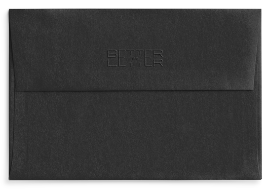 Reverso Ebony Black Celebra - Better by Letter