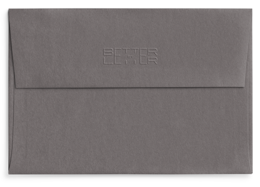 Reverso sobre Smoke Celebra - Better by Letter