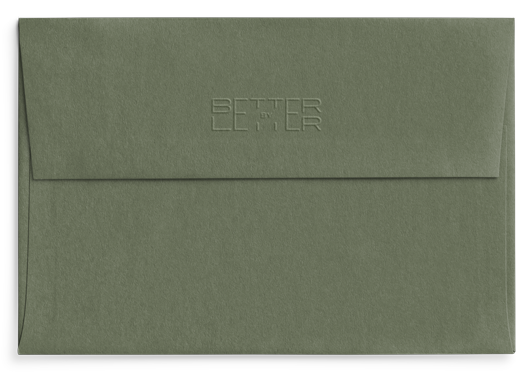 Reverso sobre Mid Green Conecta - Better by Letter