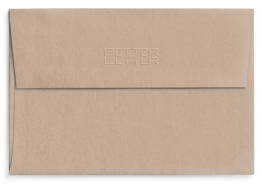 Reverso sobre Stone Conecta- Better by Letter